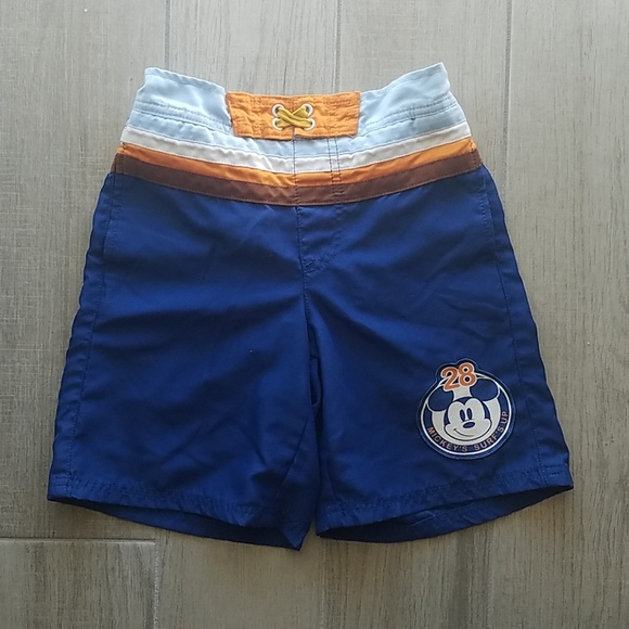 016ea8fcd1 Disney Swim | Store Mickey Mouse Trunks For Boys | Poshmark